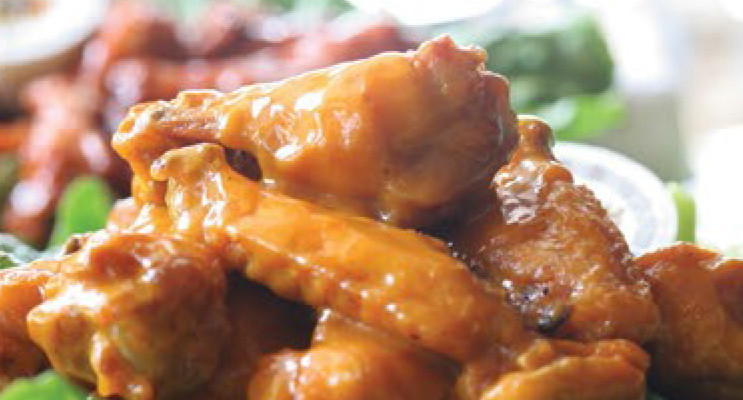 Voted Best Wings in JAX