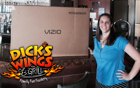 Tap TV Winner at Dick's Wings Nocatee