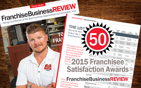 Dick's Wings Awarded in Top Food Franchises By Franchise Business Review