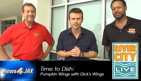 Dick's Serves Up Pumpkin Wings-River City Live
