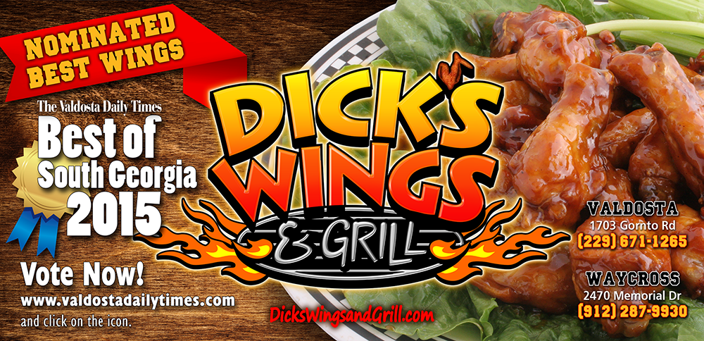 Nominated Best Wings of South Georgia