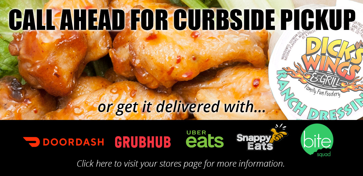 Call for curbside pickup or delivery