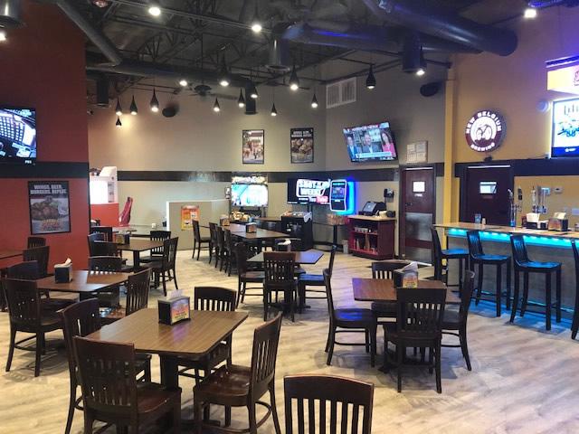Carrollton TX interior of restaurant