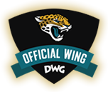 Jaguars' offical wing logo