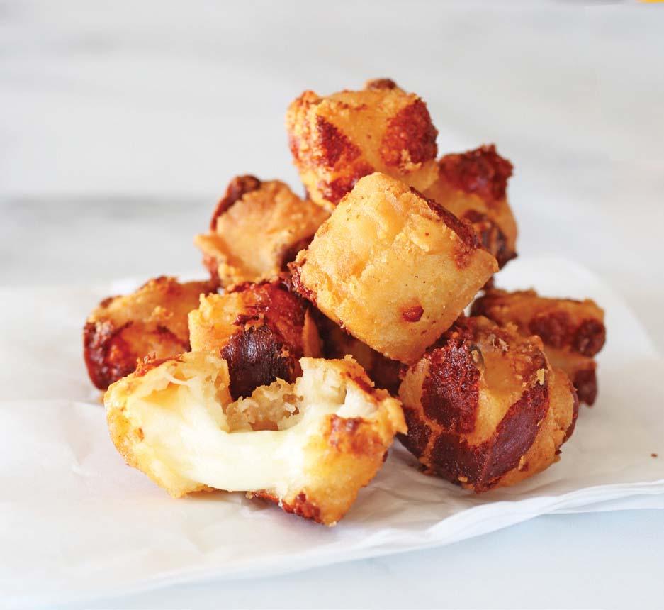 oktoberfest menu item alpine cheddar cheese curds